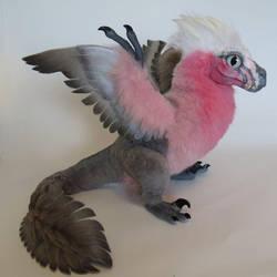 Rose-Parrot Raptor by kimrhodes