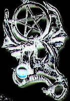 Pentagram Dragon by plutoniancrow