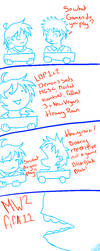 LOS work and video games by saiyan-chan