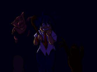 Sama plays Silent Hill by saiyan-chan
