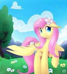 Sweet Fluttershy '18 by SkyHeavens