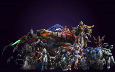heroes of the storm -starcraft- by john98317