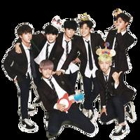 {PNG} BTS 01 Season Greetings Render by souqoreans