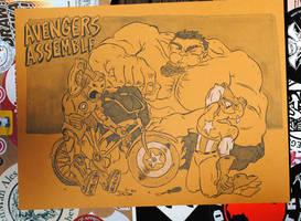 Avengers Assemble by JoeFoo
