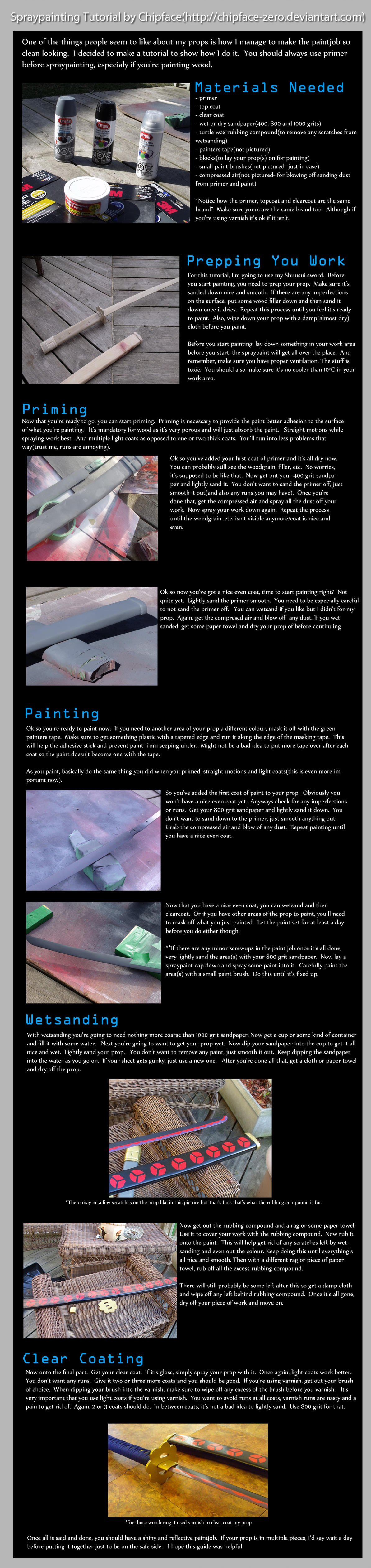 spraypainting tutorial by chipface-zero