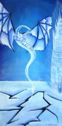 Icedragon by BirgitNoll