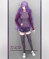 Camilla - Casual clothes by jordendraws