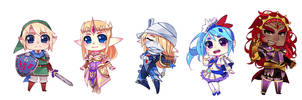 Hyrule Warriors by R0cket-Cat