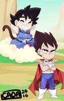Dragon ball Kids by R0cket-Cat