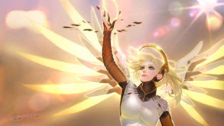 Mercy of Overwatch by Yu-Han