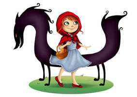 Red riding hood by Lillas40
