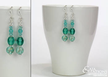 Olympica earrings (OOAK) by petrova