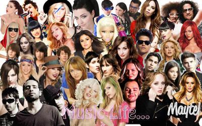 Mis Artistas FV en Wallpaper by MFSyRCM
