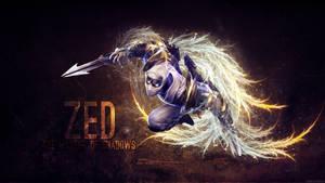 League of Legends - Zed Wallpaper by Soinnes