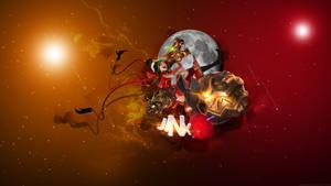 League of Legends - Jinx Wallpaper by Soinnes