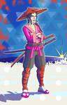 Samurai Boss Woman by chiryogatito