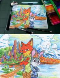 Nick and Judy by McKimson
