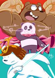 we superhero bear by McKimson