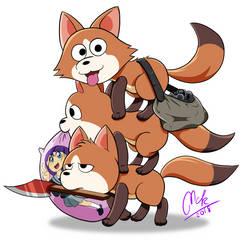 We Bare Foxes by McKimson