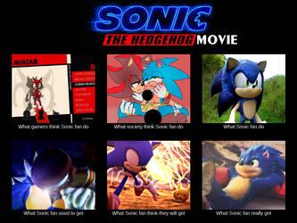 Sonic Movie vs Everything by McKimson
