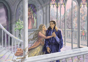 Turgon and Idril by Mysilvergreen