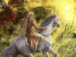 Finrod Felagund by Mysilvergreen