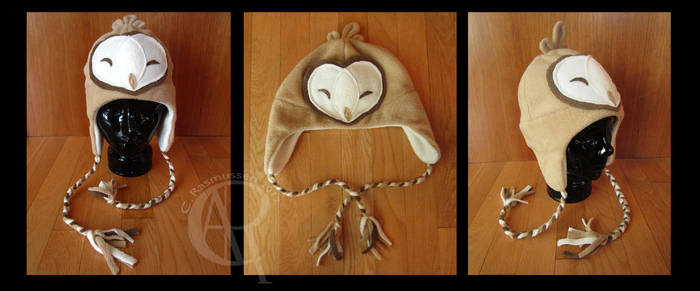 Barn Owl Hat by CaseyAlexandra
