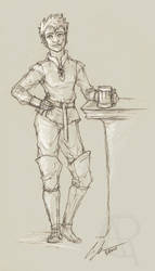 Ylva Sketch by CaseyAlexandra