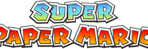 Super Paper Mario Modern Logo by Fawfulthegreat64