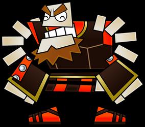 O'Chunks, Warrior by Fawfulthegreat64