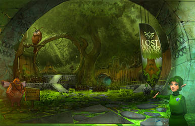 Lost Woods Tavern Final by medders