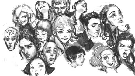 Drawin' Faces Vid by medders