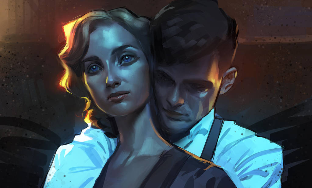 Grace and Tommy Shelby by medders
