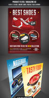 Product Flyer / Magazine Ad by graphicstock