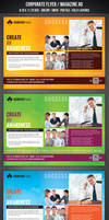 Corporate Flyer / Magazine AD by graphicstock