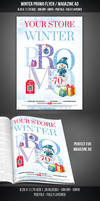 Winter Promotional Flyer / Magazine AD by graphicstock