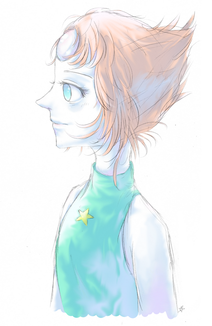 Heey... yes... another Steven Universe fan art! I'm so sorry I promise that my next deviation won't be another one xD I like Pearl so much, I find her so... I dunno... smart? Also I like her relati...