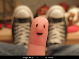 Finger Face by Stathis