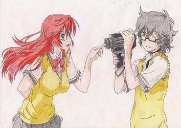 Ichika and Kaito by KiteH4cK