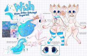 Wish Reference by MoggieDelight
