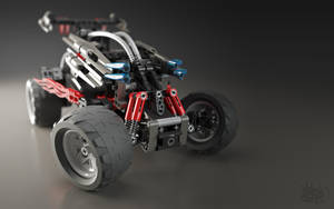 Lego RC Buggy - Shot 1 by pixelquarry