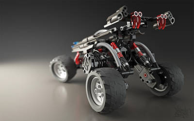 Lego RC Buggy - Shot 3 by pixelquarry