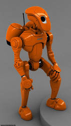 Rocketbot - new render by pixelquarry