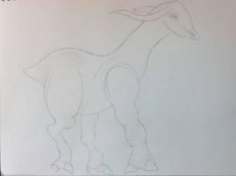 Muddlet sketched by DewlShock
