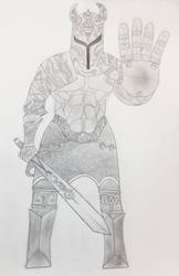 Gorl sketched by DewlShock