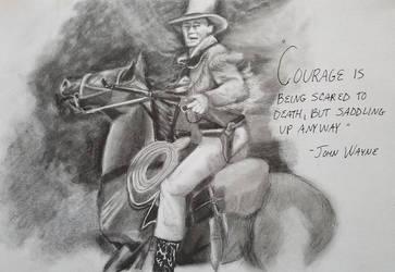 John Wayne pic by IamDogged