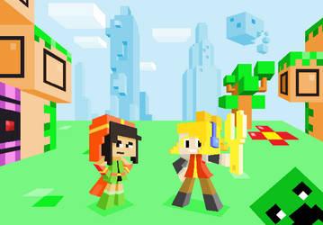 Iconoclast Minecraft by ScepterDPinoy