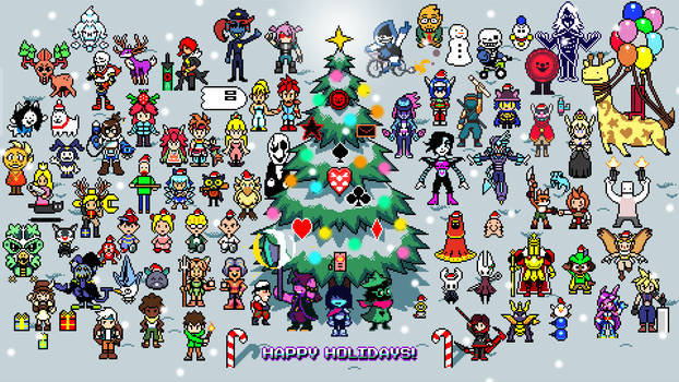 Deltarune Merry Christmas 1080p by ScepterDPinoy