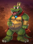 King K Rool by HG-The-Hamster
