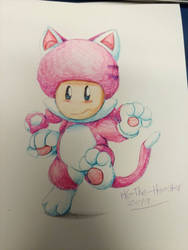 Cat Toadette is canon by HG-The-Hamster